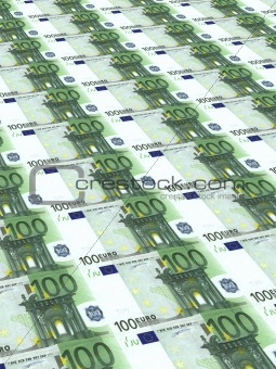 Background from set of banknotes
