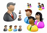 Business People | Internet Icon Set