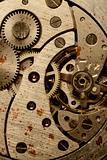 rust mechanism of analog watch