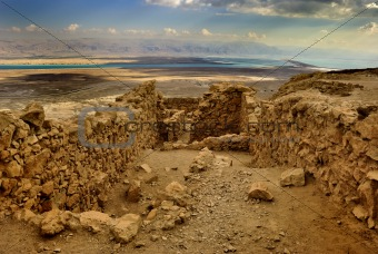 Ancient city Masada