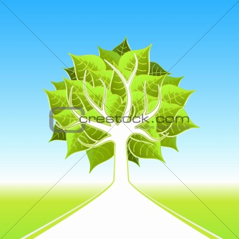 Eco big tree design