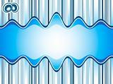 Sound waves background