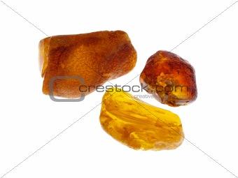 Amber. Origin: Poland