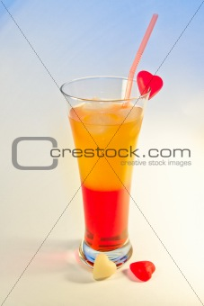 Campari-orange cocktail