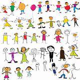 Child like drawings