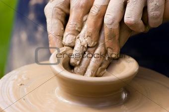 Potters team