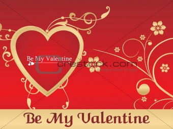 Be My Velentine, vector illustration