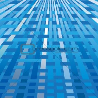 Business blue wave background