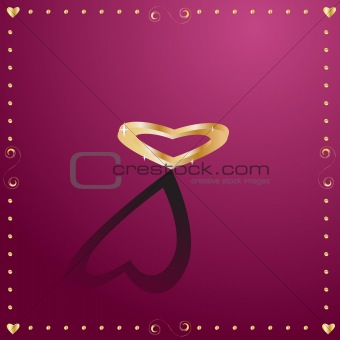 3d love heart for valentines