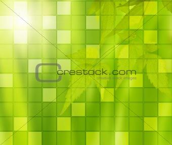 Green mosaic