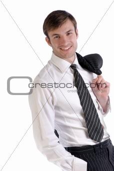 portrait smiling busnessman