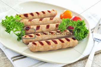 Breakfast sausages