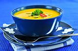 Pumpkin or squash soup