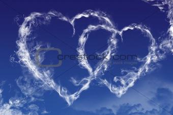 Sky hearts