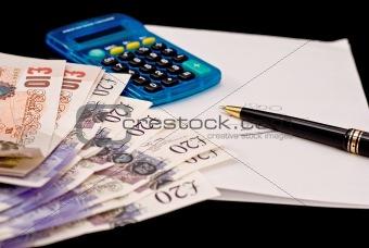 british banknots