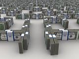 maze of dollars