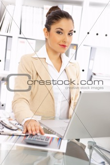 Business Woman in Office