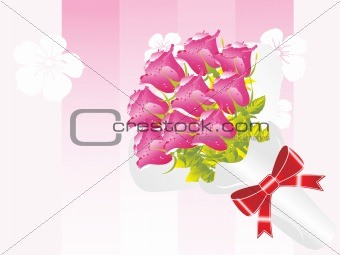 beautifull flower bouque series design9