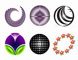 Six circular logo
