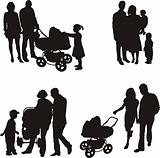 Young Family (vector)