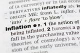 Dictionary definition of inflation
