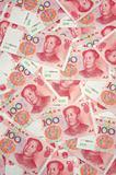 China yuan background