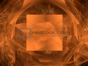 Abstract background. Dark orange palette.