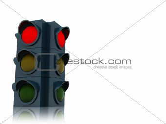 background with traffic light