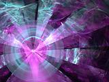 Abstract background. Purple - blue palette.