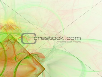 Abstract background. Light red - green palette.
