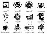 Picasso styled zodiac signs