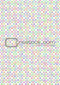abstract tiled pattern
