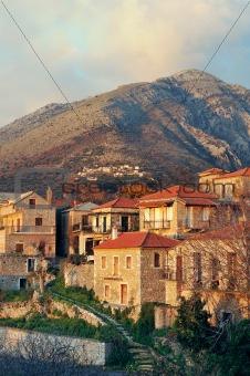 Greek village from Mani peninsula