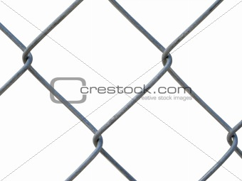 A steel fence - texture