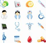 Health And Nutricion Icons