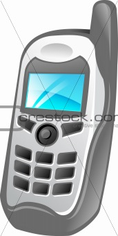 cell phone illustration