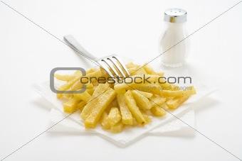 bowl of homemade chips