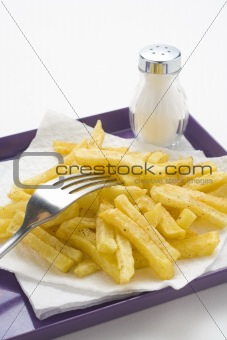bowl of homemade chips