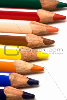 Beautiful color pencils