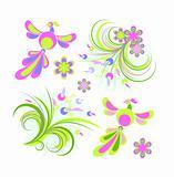 Spring design elements