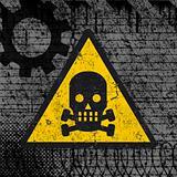 danger sign - urban grunge design