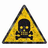 danger sign - grunge design