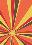 vector abstract background with sunburst and star