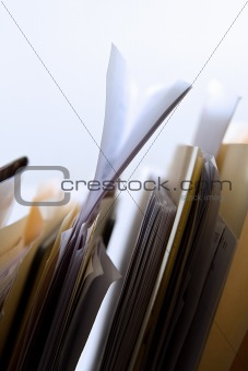 Folders in a Rack