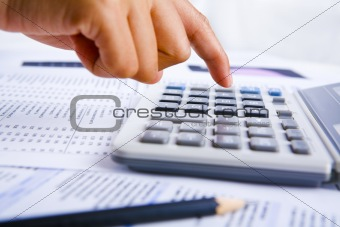 Calculating using calculator