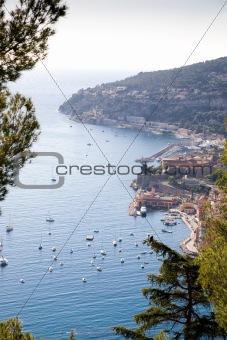 One Of Mediterranean Resort View. France.