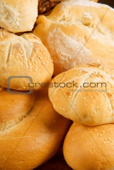 Fresh baked bread