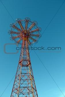 Forgotten Parachute tower