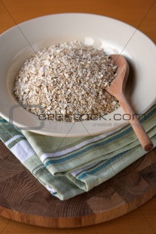 Bowl of porridge oats