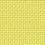 yellow retro pattern